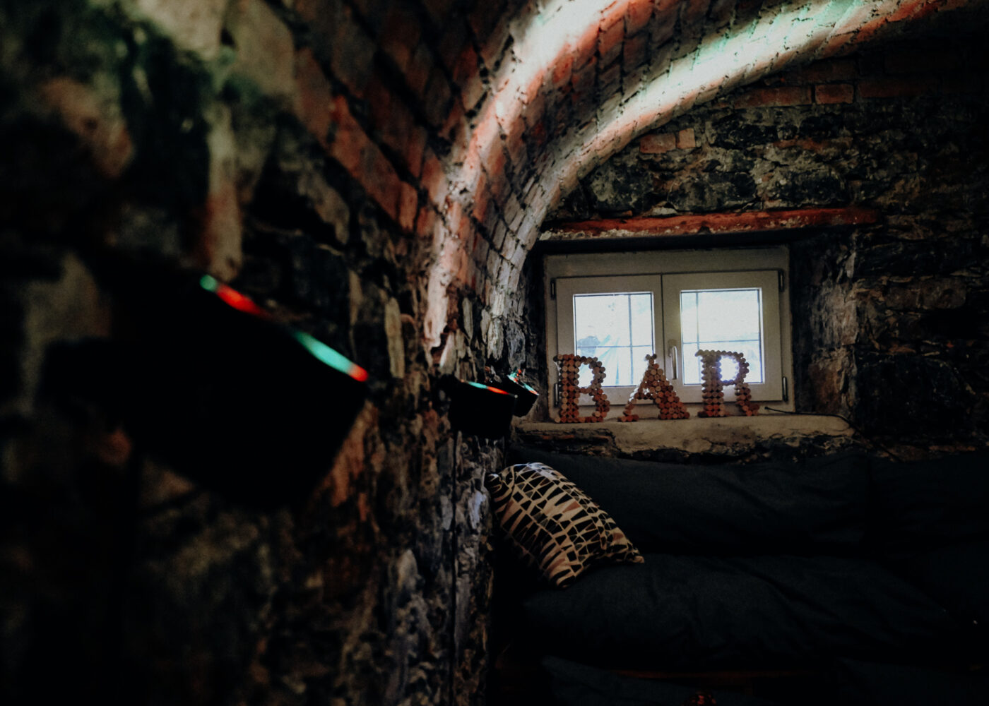 s'Loch Mauren Vereinslokal Loungelichter